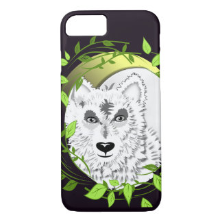 Arctic White Wolves Wild Animal Design iPhone 8/7 Case
