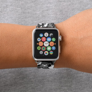 Arctic Winter Camo Apple Watch Band