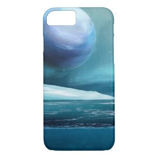 Arctic Winter Night Moon, Apple iPhone 7 Case