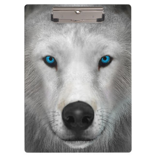 Arctic Wolf Clipboard