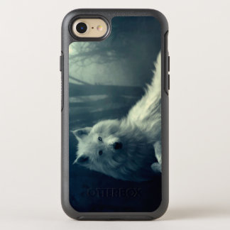 Arctic wolf - forest wolf - snow wolf - white wolf OtterBox symmetry iPhone 8/7 case