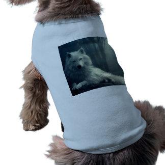 Arctic wolf - forest wolf - snow wolf - white wolf shirt