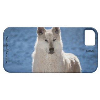 Arctic Wolf iPhone 5 Barely There Universal Case