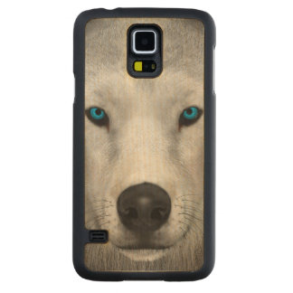 Arctic Wolf Maple Galaxy S5 Case