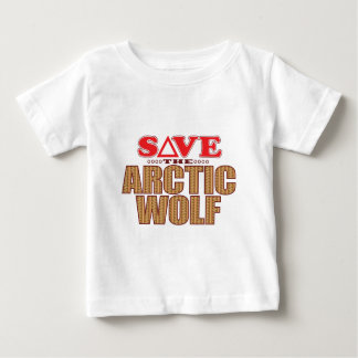 Arctic Wolf Save Baby T-Shirt