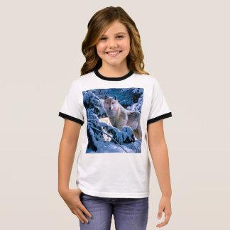 Arctic wolf - white wolf - wolf art ringer T-Shirt