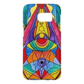 """Arcturian Insight Grid"" Samsung Galaxy S7, Bar... Samsung Galaxy S7 Case"