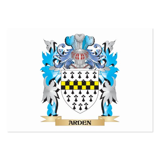 Arden Coat Of Arms Business Card Templates