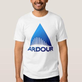 Ardour Blue Logo T-shirts