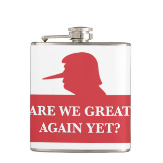 Are We Great Again Yet? Flask