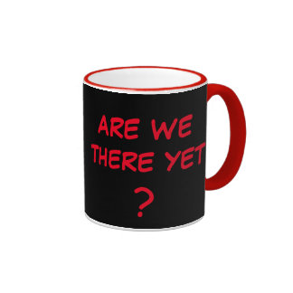 Are We There Yet? Ringer Mug