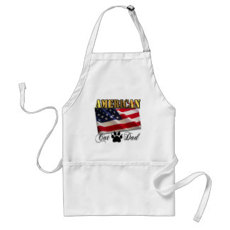Are you an American Cat Dad? Standard Apron