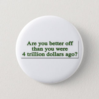 Are you Better Off ? 2 Inch Round Button