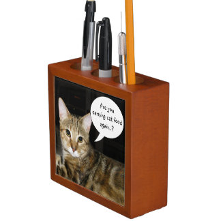 Are you earning Cat Food again..? Desk Organizer