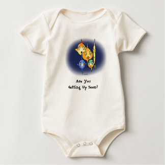 Are You Getting Up Soon? Baby Bodysuit