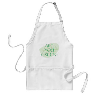 Are You Green Earth Day Apron