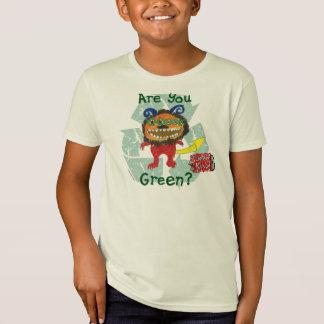 Are You Green? Scrap Kins Organic Tee