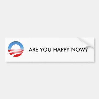 Are You Happy Now Bumper Sticker