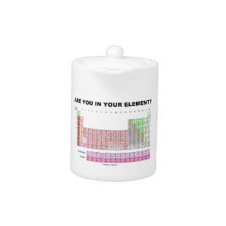 Are You In Your Element? Periodic Table Humor