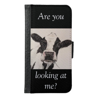 Are you looking at me? samsung galaxy s6 wallet case