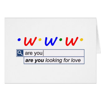 Are You Looking For Love Card
