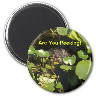 Are You Peeking! Magnet