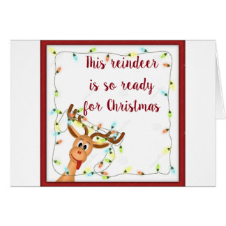 """ARE **YOU** READY FOR CHRISTMAS """"ADULT STYLE"""" CARD"""