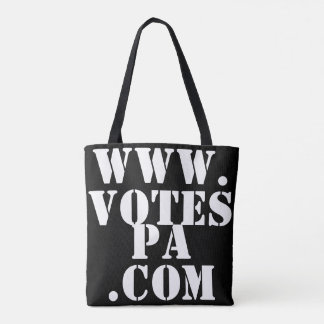 Are You Registered? Vote Bag