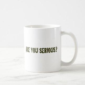 Are You Serious Mug