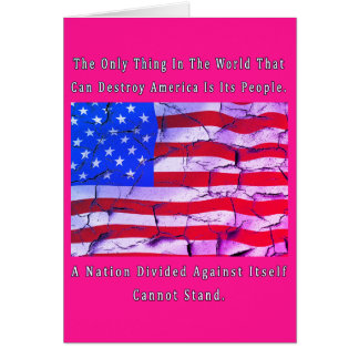 Are You With Me - A NATION DIVIDED Card