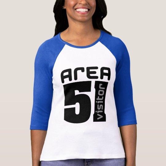 Area 51 Alien Visitor T-Shirt