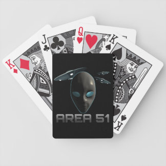 Area 51 bicycle playing cards