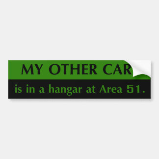 Area 51 Bumper Sticker