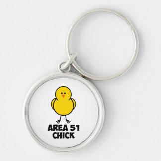 Area 51 Chick Keychain
