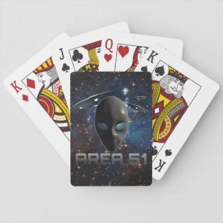 Area 51 poker deck