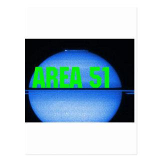 AREA 51 POSTCARD