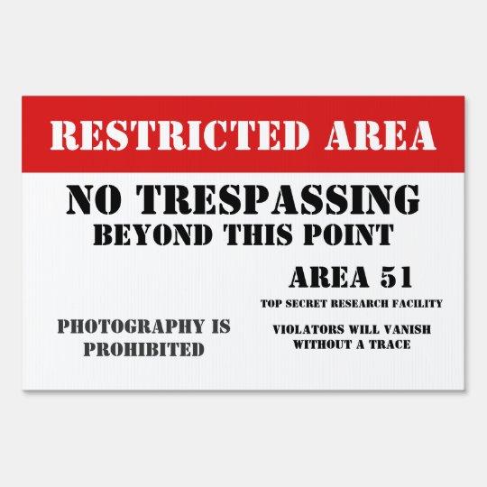 Area 51 Restriced Area