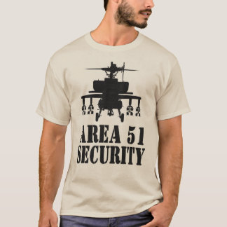 Area 51 Security T T-Shirt