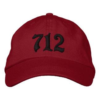 Area Code 712 , Sioux City, IOWA Baseball Cap