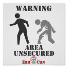 Area Unsecured Poster