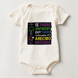 ARECIBO MESSAGE BABY BODYSUIT