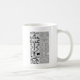 Arecibo_Message Coffee Mug