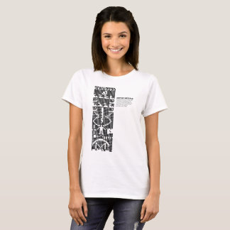 Arecibo message: space: science T-Shirt
