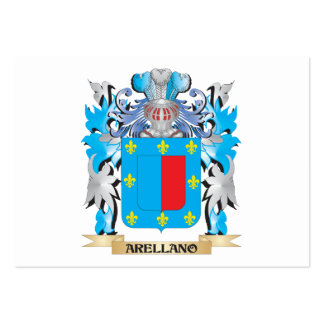 Arellano Coat Of Arms Business Card Template
