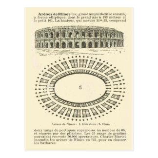 Arena de Nimes, Roman Postcard