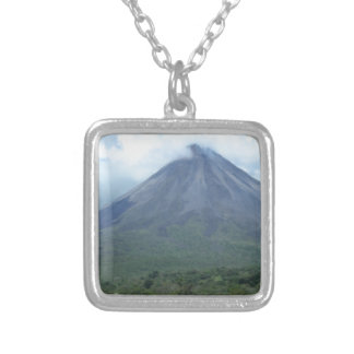 Arenal Silver Plated Necklace