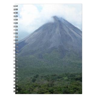 Arenal Spiral Notebook