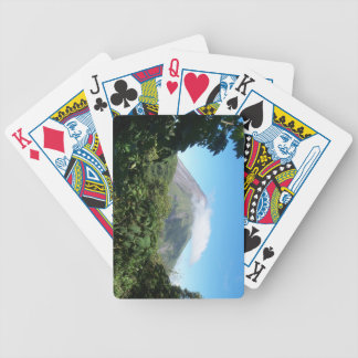 arenal volcano bicycle playing cards