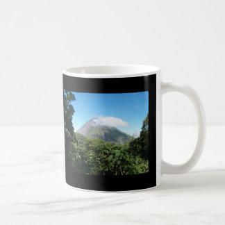 arenal volcano coffee mug
