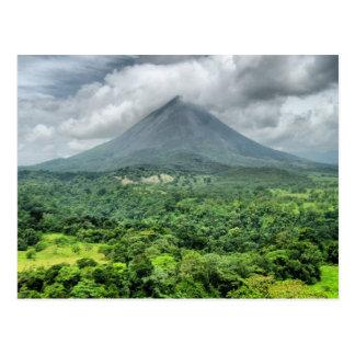 Arenal Volcano - Costa Rica Postcard